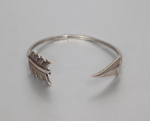 bracelet fleche argent