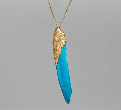 collier plume or sowat