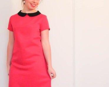 Une robe colorée en attendant le printemps… et fait main ça va sans dire ;)