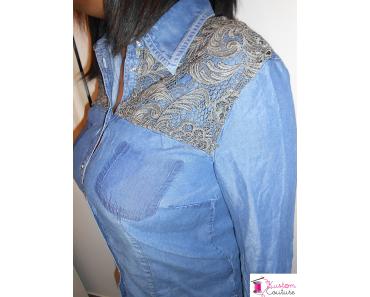 {DIY} Customisation d'une chemise en jean – #1