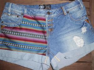 DIY / Customisation short jean navajo