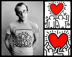Artiste street art Keith Haring pour Comme des Garçons