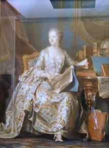 Tableau La Marquise de Pompadour de Quentin