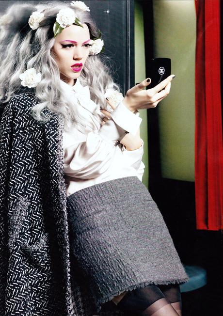 Publicité Chanel, numéro septembre 2011 Vogue
