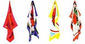 Carrés de soie version Pop art pour la marque française ATLD