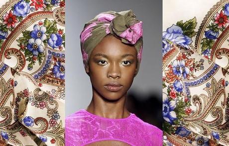 comment nouer un foulard dans les cheveux le turban en fleur. Black Bedroom Furniture Sets. Home Design Ideas