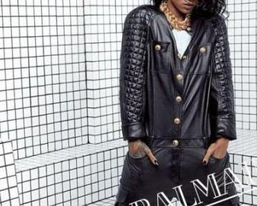 Rihanna x Balmain SS14