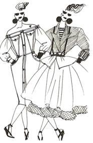 croquis-jean-gaultier-mode-dessin