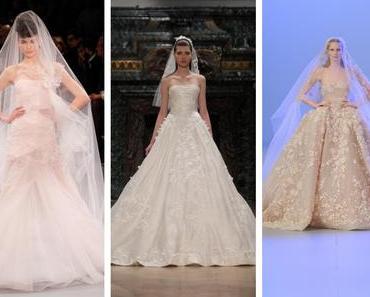 Semaine de la Mode à Paris : les robes de mariée 2014
