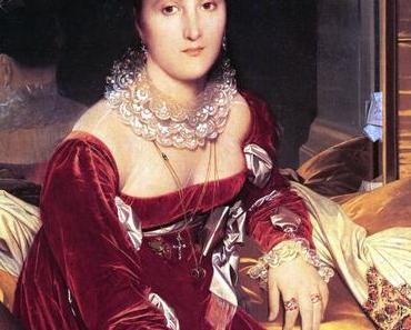 Mode du XIXème : Madame de Senonnes représentée par Ingres