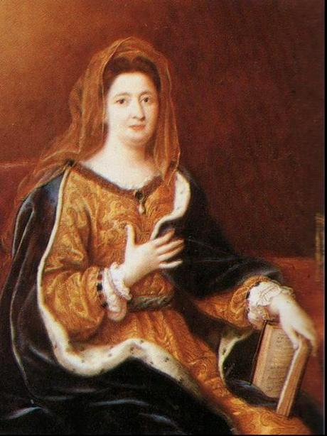 Madame de Maintenon et mode du XVIIeme siecle