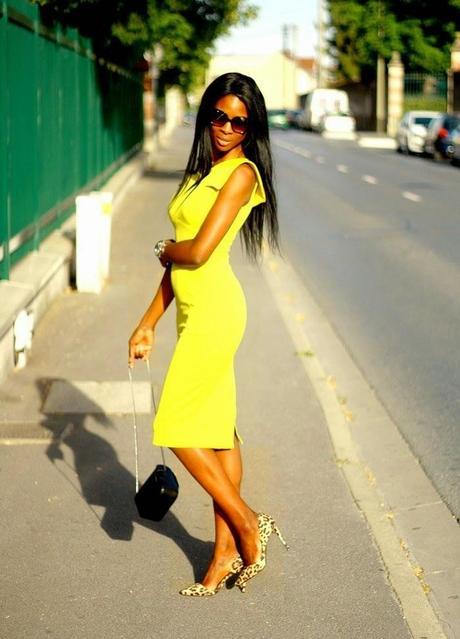 the robe jaune qu 39 on devrait toutes avoir. Black Bedroom Furniture Sets. Home Design Ideas
