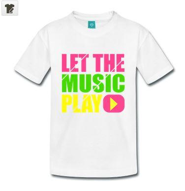 tee-shirt-spreashirt-let-the-music-play-humour