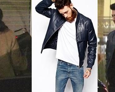 STYLE : Joe Jonas, the Nice Guy, the mystery woman and the blue leather jacket