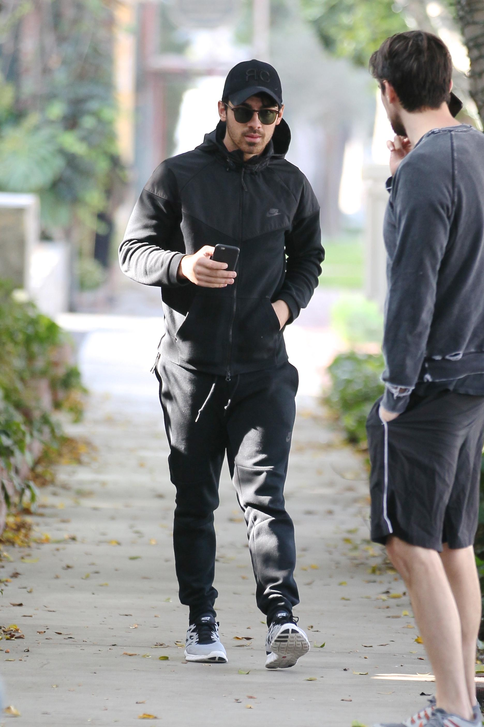 Joe Jonas out shopping in West Hollywood