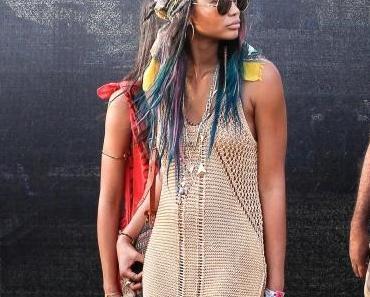 Festival de Coachella 2014 , les foulards : must-have et fashion faux-pas