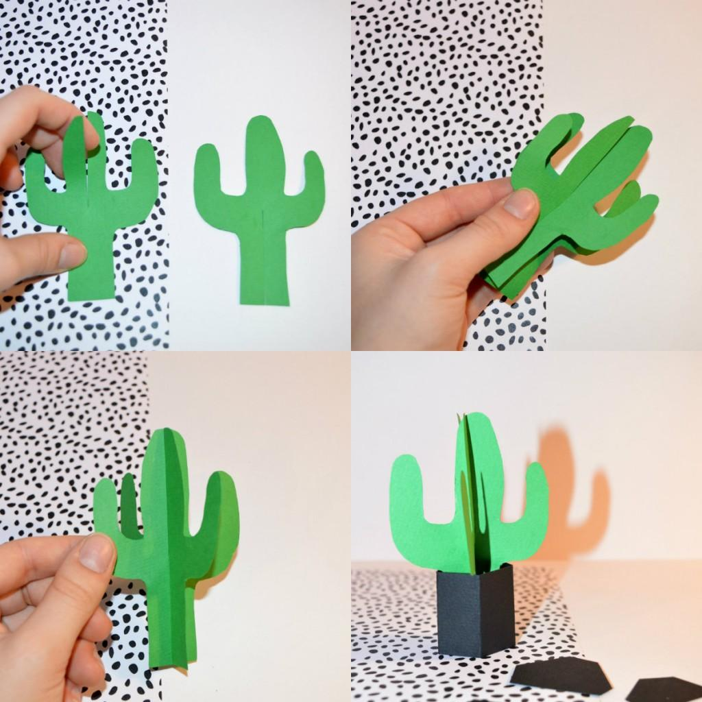 botanica diy cactus en papier. Black Bedroom Furniture Sets. Home Design Ideas