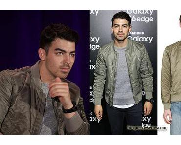 STYLE : Joe Jonas can do that with a Rag & Bone bomber