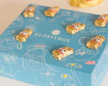 La Glossybox Alice au pays des merveilles