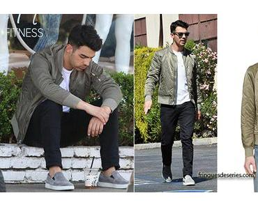 STYLE :  Joe Jonas loves his  Rag & Bone bomber