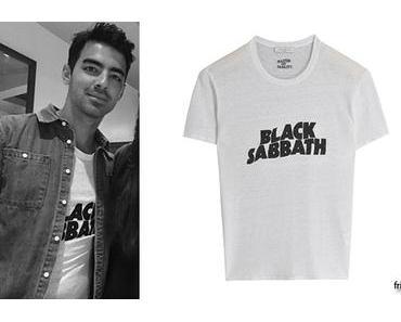 STYLE :Joe Jonas likes Black Sabbath