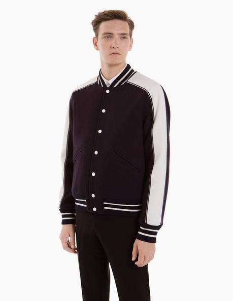 Blouson teddy homme american college
