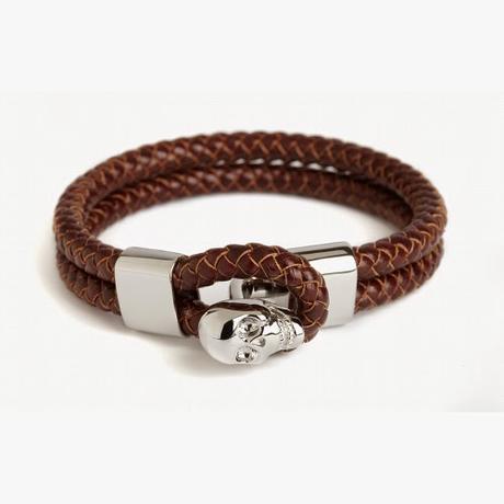 Bracelet Simon Carter, fermoir squelette