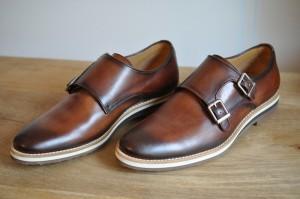 Chaussures en cuir à boucles Lucknow