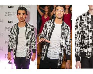 STYLE : Party with Joe Jonas wearing Helmut Lang jacket