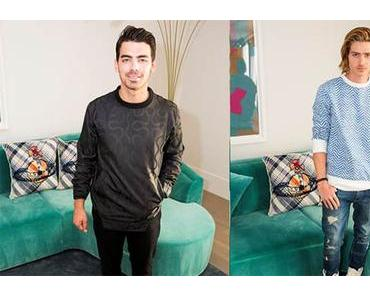 STYLE : Joe Jonas and Will Peltz shared the same suite in Vivienne Westwood sweaters