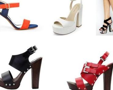 La tendance shoes : Les sandales à talons XL!!!!