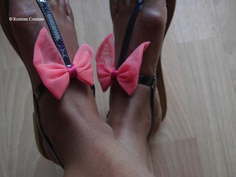 {DIY Chaussures} Nœuds-pieds