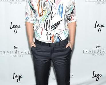 STYLE :  Michael J. Willett and Tyler Posey on the 2015 Trailblazer Honors Red Carpet