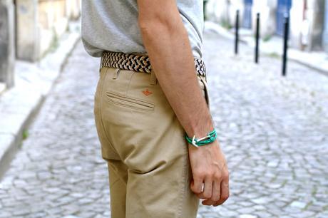 BLOG-MODE-HOMME_Preppy-Dandy_masculin_Chino-Dockers_Céline-chaussures_ceinture-tressée-miansai-ancre_Scheyda-iran2