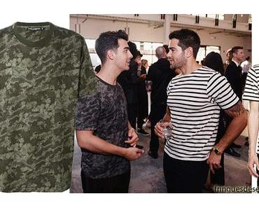 NY Fashion Week : when the fashionisto Joe Jonas meets the fashionisto Jesse Metcalfe, what are they talking about ?