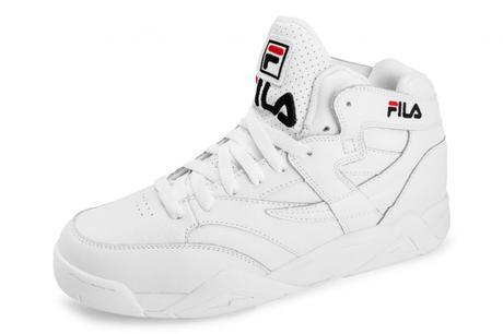 Chaussure Fila Blanche Femme