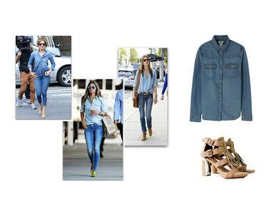 Denim, le total look