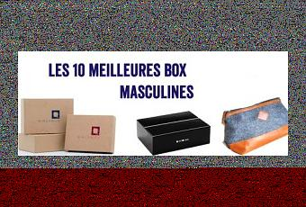 les 10 meilleures box masculines. Black Bedroom Furniture Sets. Home Design Ideas