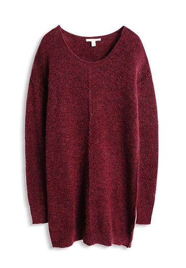 robe-maille-marsala-tendance-hiver-2015-2016