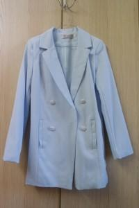 veste bleue