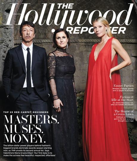 Hollywood Reporter : designers et muses