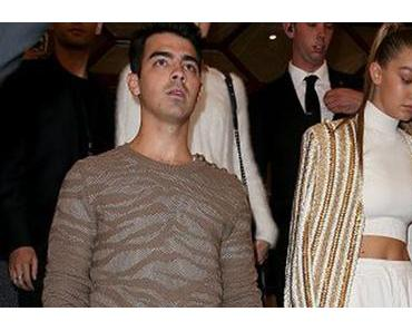 Paris fashion Week : Joe Jonas au défilé Balmain