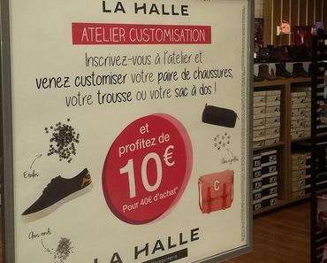 75826c1b350e74 {Atelier DIY} La Halle aux Chaussures