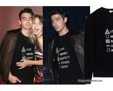 STYLE : Joe Jonas loves Kenzo and respects others