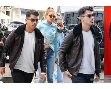 STYLE : an aviator jacket like Joe Jonas