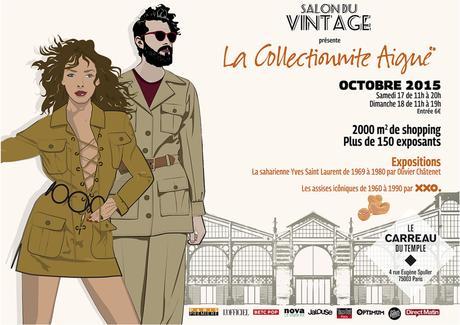 affiche salon du vintage paris 2015