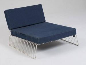 fauteuil en jean iconique