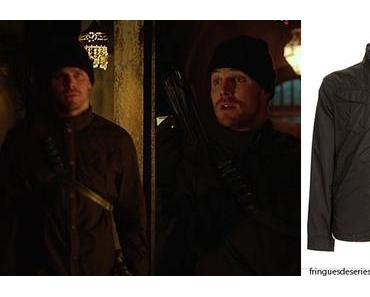 ARROW : G-Star overshirt for Oliver Queen in s3ep03