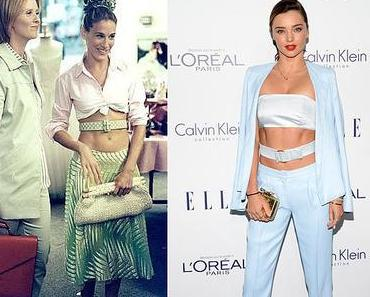 Miranda Kerr vs Carrie Bradshaw… SUBLIME