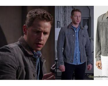 ONCE UPON A TIME : David Nolan (Josh Dallas) wearing an ALL SAINTS jacket in s5ep06